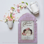 Arch Lavender Patissiere Frame