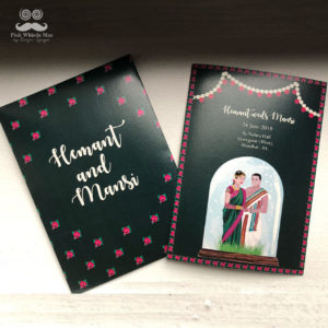 Tamilian Wedding Invite
